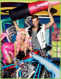 Thumbnail image for Nicki Minaj & Ricky Martin for VIVA GLAM's Global Campaign